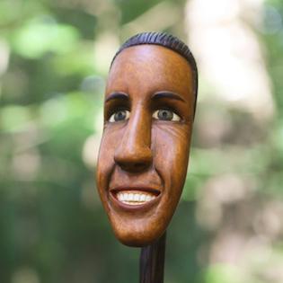 podobizna ze dřeva