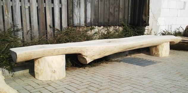 lavice z kmene