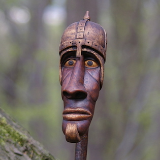 říman ze dřeva