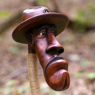 šerif ze dřeva