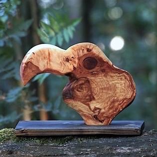 tukan ze dřeva
